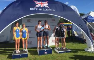 WJ 16 2x British Champions