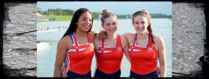 Junior Girls representing GB, Munich Regatta 2017