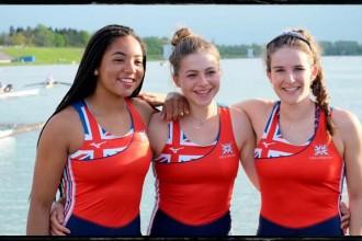 Junior Girls representing GB, Munich Regatta 2017